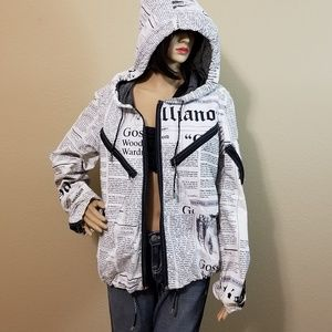 GALLIANO Gazette Jacket